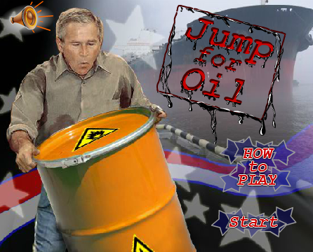 George W Bush – Jump for Oil