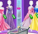 Sisters Princess Costumes Shopping