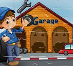 Vehicles Garages Jigsaw