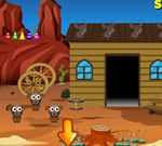 Desert Village Boy Escape