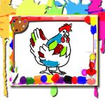 Chicken Coloring Book