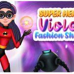 Superhero Violet Fashion Shoot