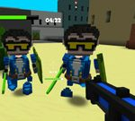 Dust 2 – A Minecraft Shoot 'em Up